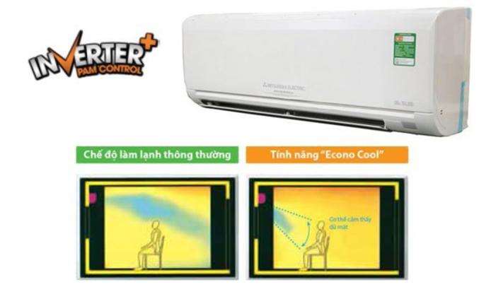 Máy lạnh Mitsubishi Electric MSY-GH13VA 1.5 HP tiết kiệm