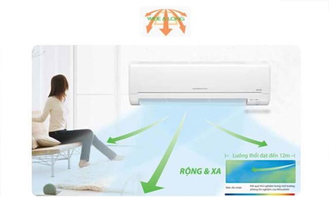 Máy lạnh Mitsubishi Electric MSY-GH13VA 1.5 HP làm lạnh nhanh chóng