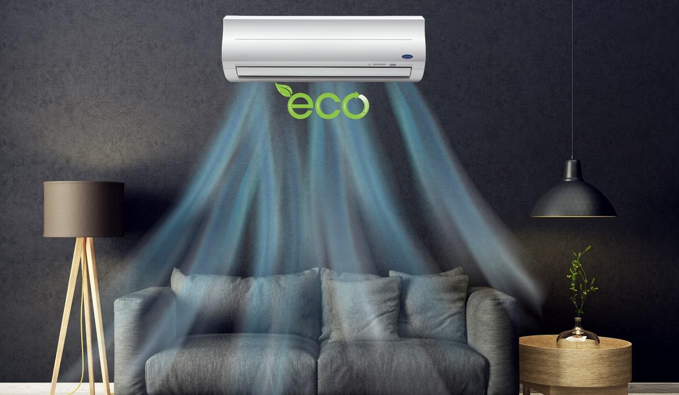 Máy lạnh Carrier 1 HP 38CER010-703V/42CER010-703V - Chế độ eco tiết kiệm điện