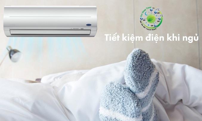 Máy lạnh Carrier 1 HP 38CER010-703V/42CER010-703V - Tiết kiệm điện khi ngủ