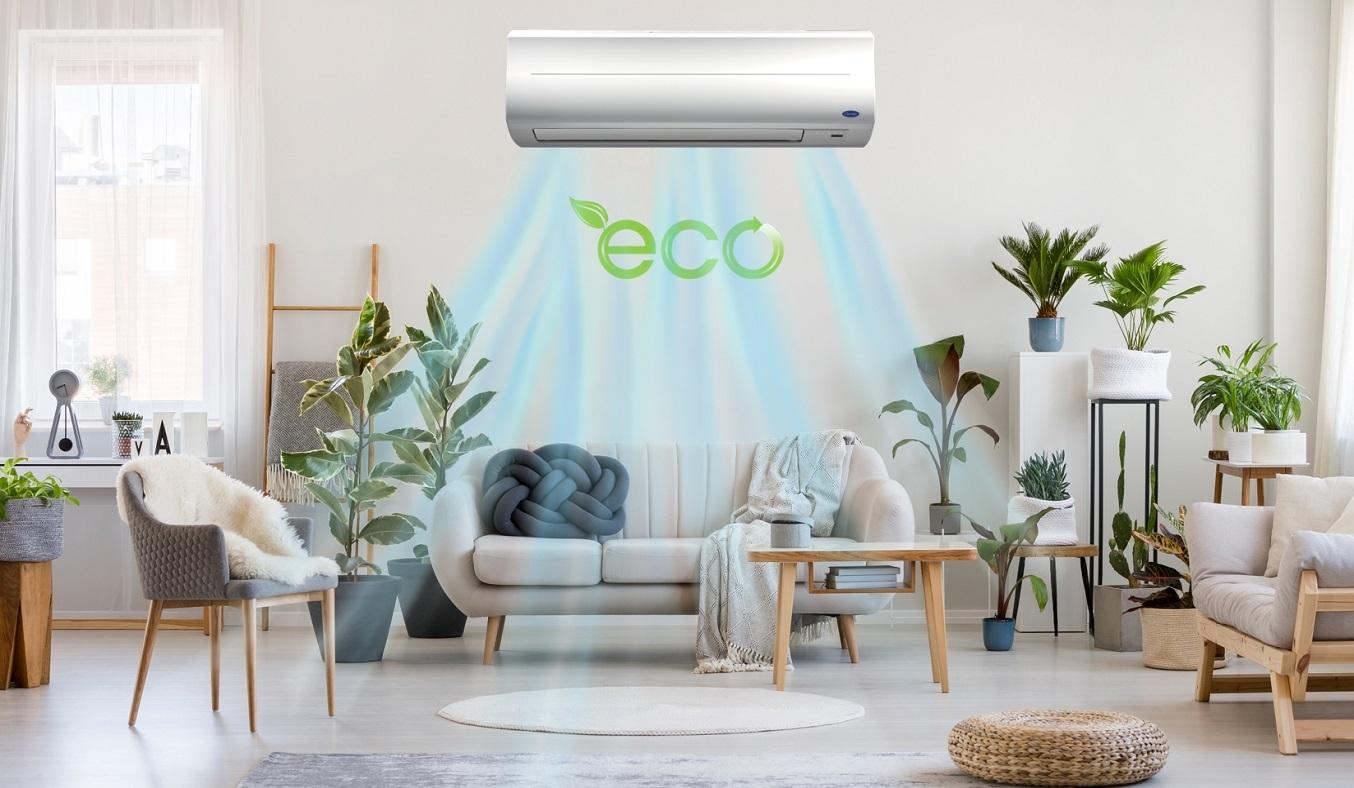Máy lạnh Carrier 1.5 HP 38CER013-703V/42CER013-703V - Chế độ eco tiết kiệm điện