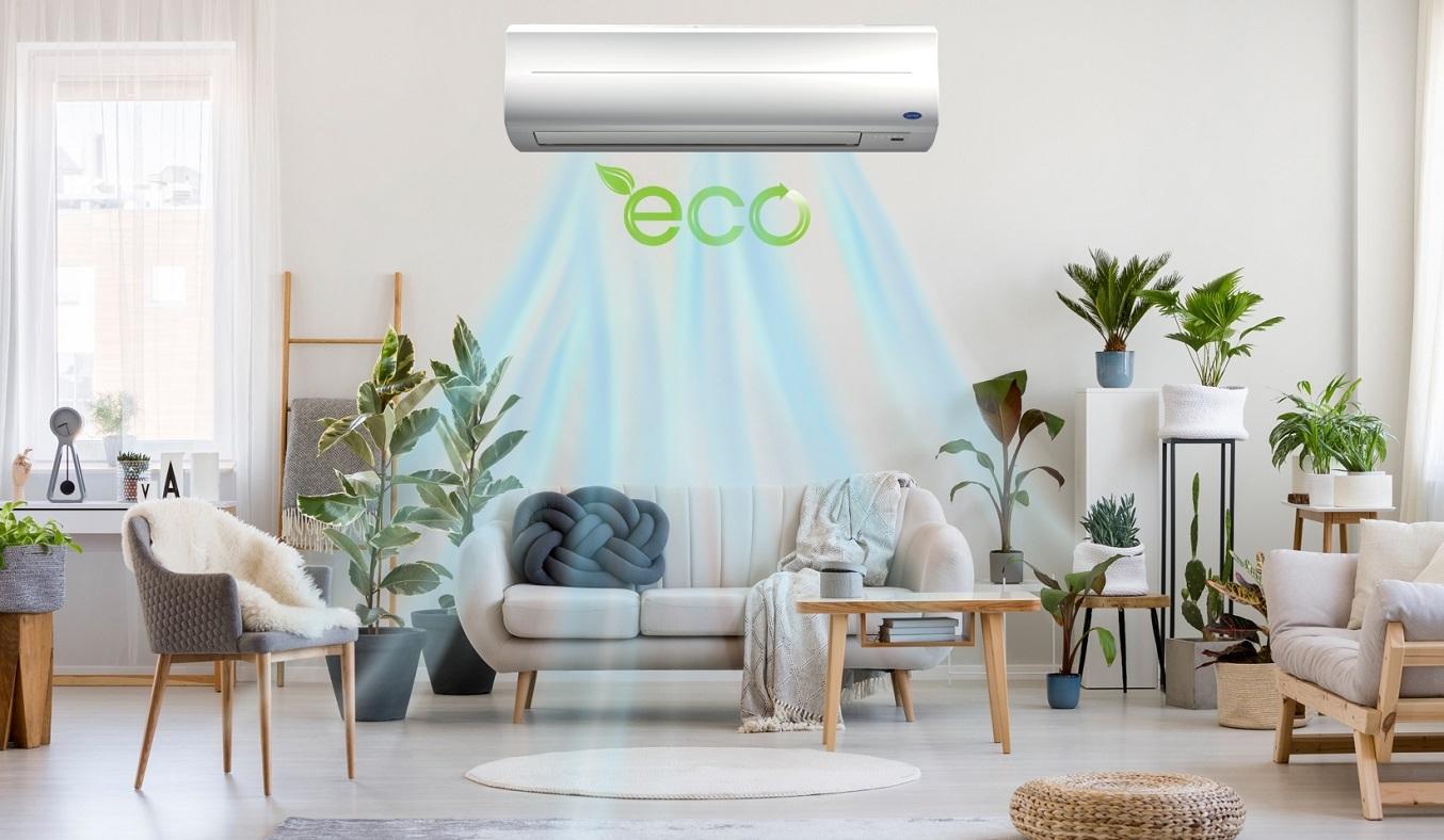 Máy lạnh Carrier 2 HP 38CER018-703V/42CER018-703V - Chế độ eco tiết kiệm điện