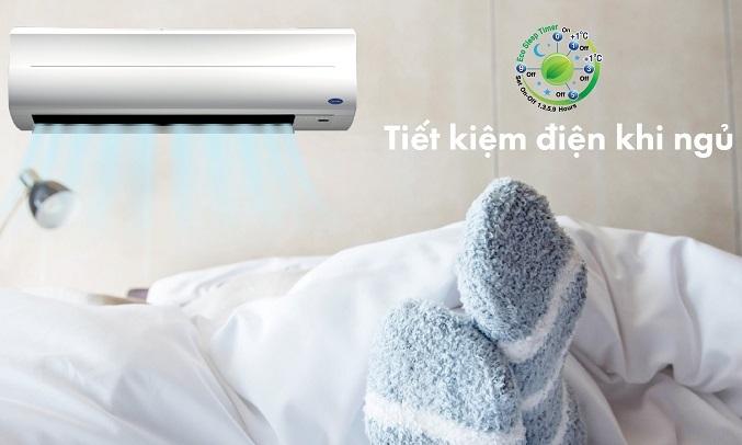 Máy lạnh Carrier 2 HP 38CER018-703V/42CER018-703V - Tiết kiệm điện khi ngủ