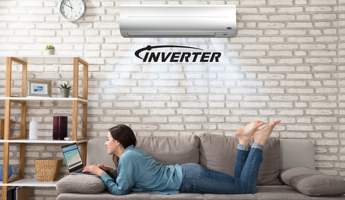 Máy lạnh Carrier Inverter 2 HP 38GCVBE018-703V/42GCVBE018-703V - Công nghệ Inverter