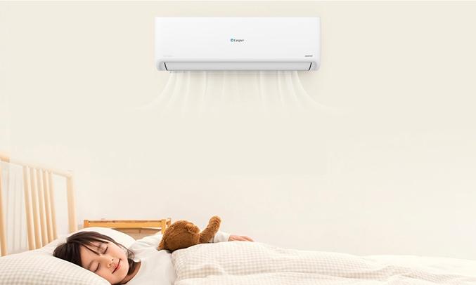 Máy lạnh Casper Inverter 1 HP GSC-09IP25 - khi ngủ SLEEP