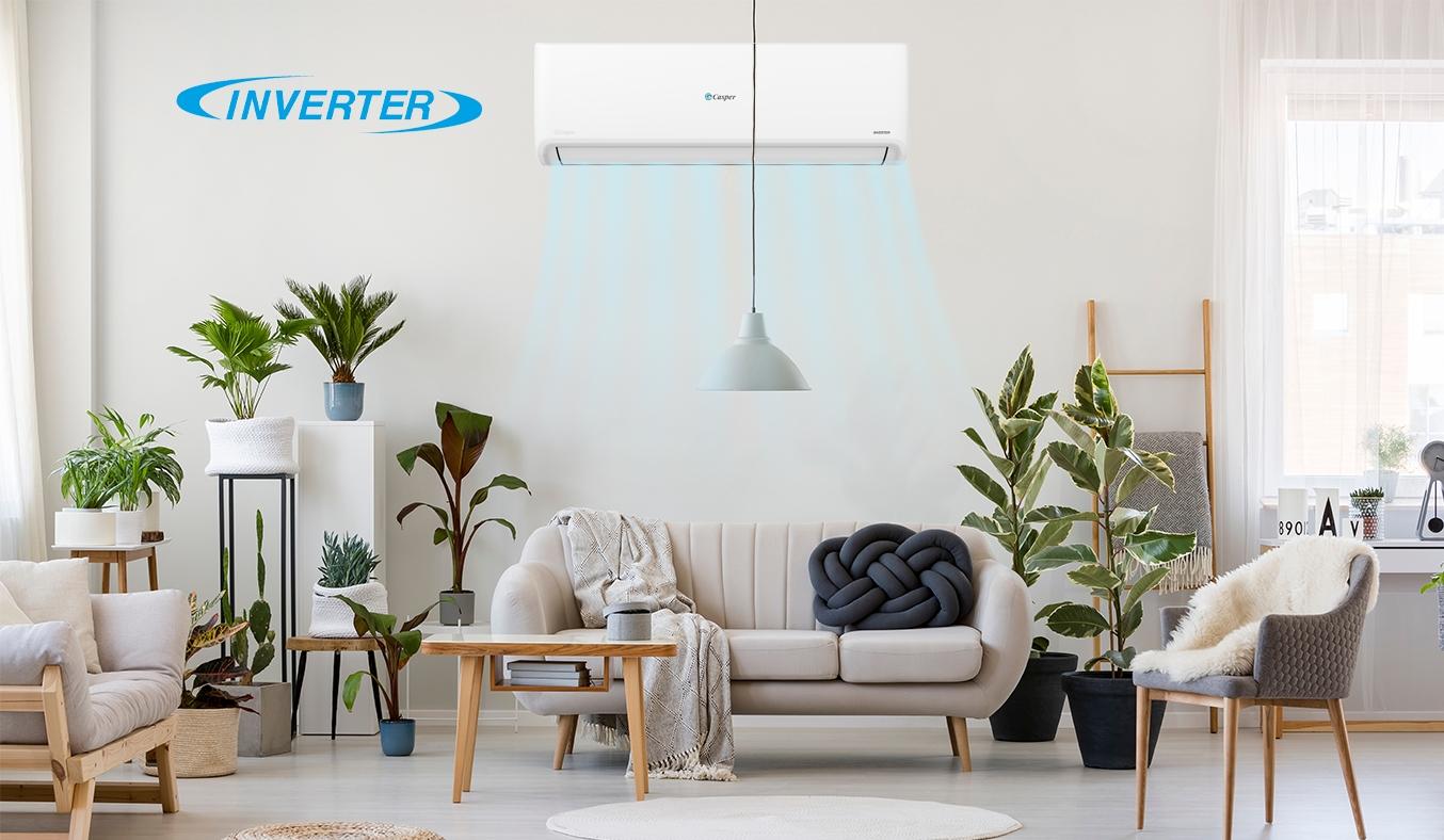 Máy lạnh Casper Inverter 1 HP GSC-09IP25 - Công nghệ Inverter