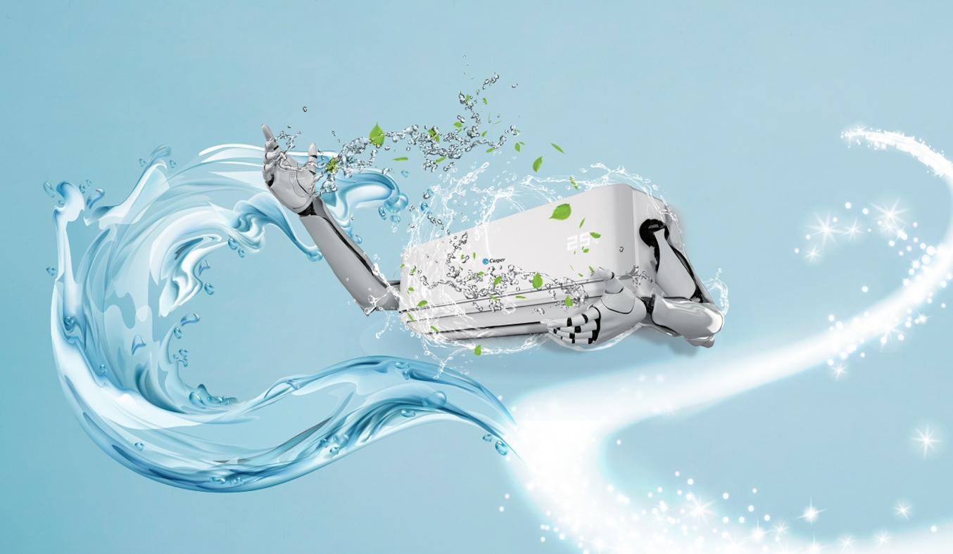 Máy lạnh Casper Inverter 1 HP GSC-09IP25 - Chức năng i-Clean
