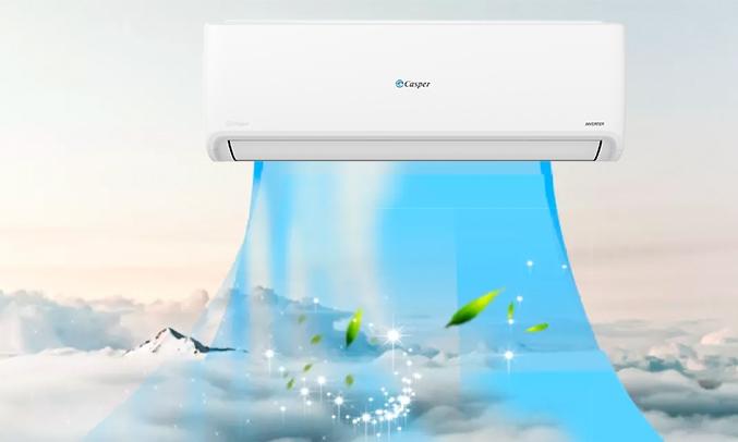 Máy lạnh Casper Inverter 1 HP GSC-09IP25 - Thanh lọc không khí