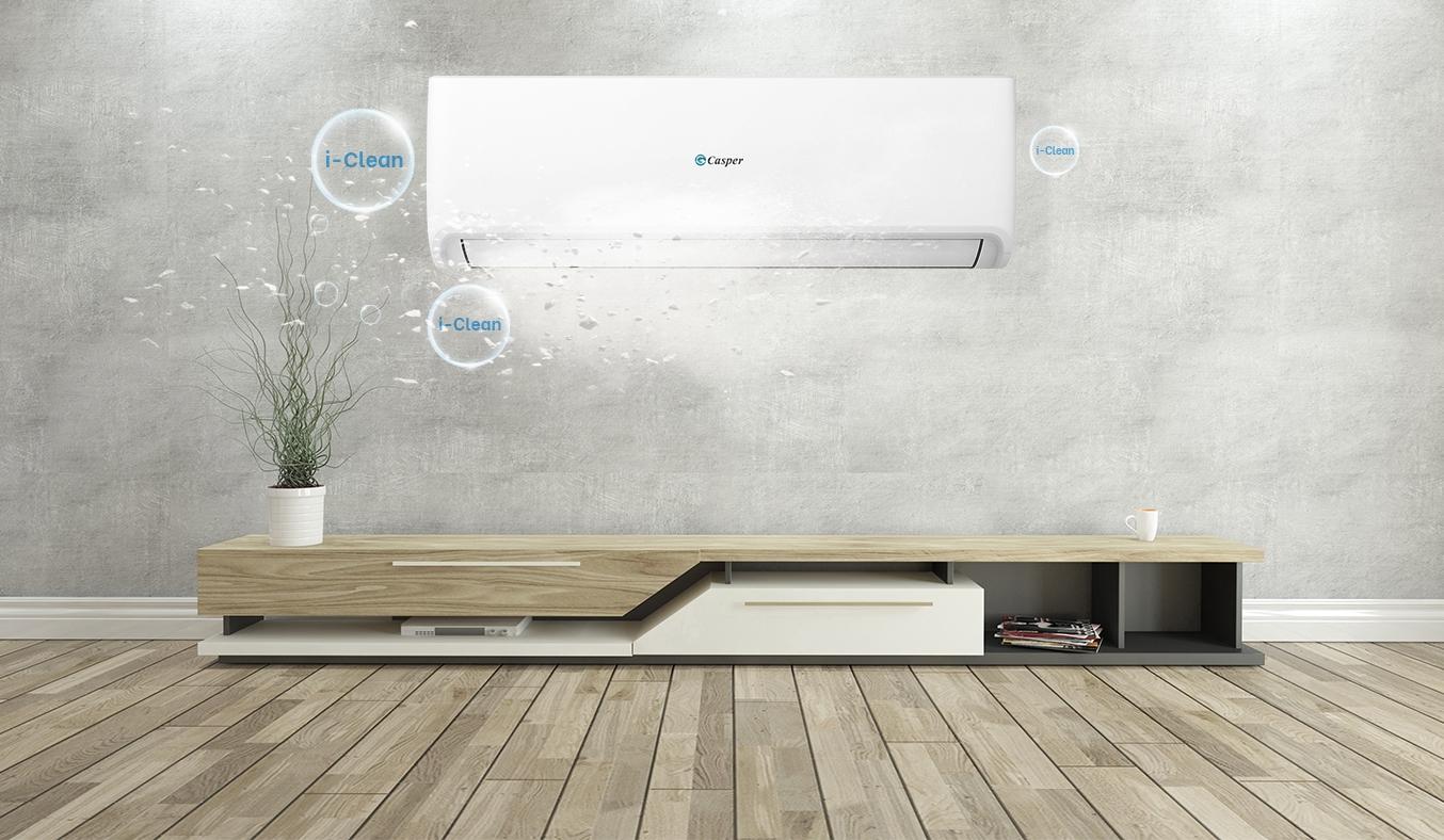 Máy lạnh Casper 1 HP SC-09FS32 - Chức năng i-Clean