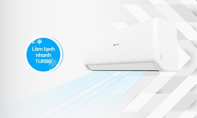 Máy lạnh Casper 1 HP SC-09FS32 - Làm lạnh nhanh Turbo