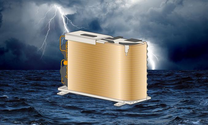 Máy lạnh Casper Inverter 1 HP GC-09TL32 - Dàn tản nhiệt mạ đồng