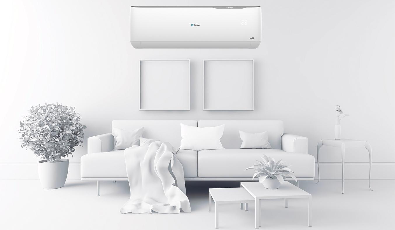 Máy lạnh Casper Inverter 1.5 HP GC-12TL22 thiết kế hiện đại