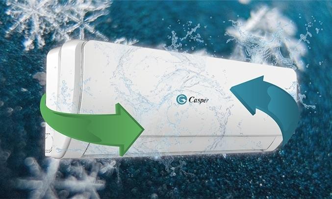 Máy lạnh Casper Inverter 1.5 HP GC-12TL22 tiết kiệm điện