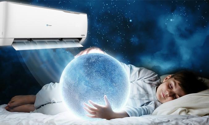 Máy lạnh Casper Inverter 1.5 HP GC-12TL22 cảm biến thân nhiệt i Feel