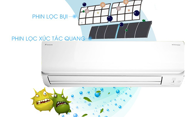 Máy lạnh Daikin 1 HP ATKC25TVMV hoạt động êm ái