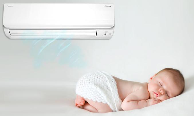 Máy lạnh Daikin 1 HP ATKC25TVMV tiết kiệm điện