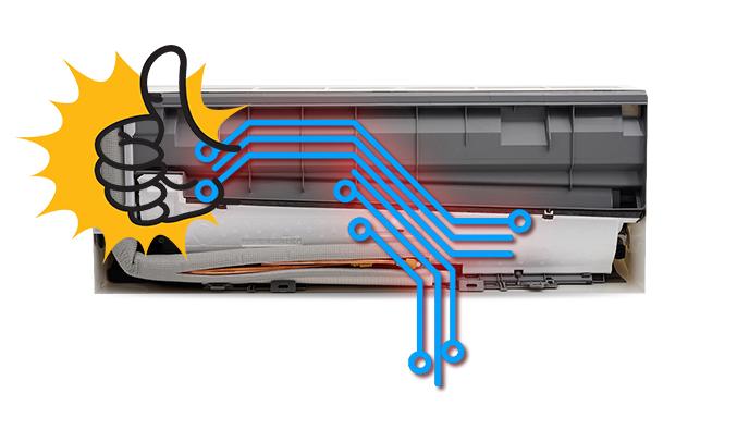 Máy lạnh Daikin 1.5 HP ATKC35TVMV chính hãng