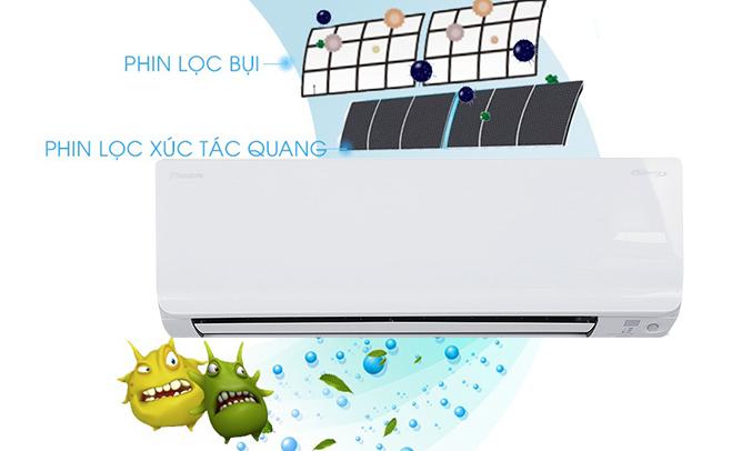 Máy lạnh Daikin 2.5 HP FTKC60TVMV hoạt động êm ái