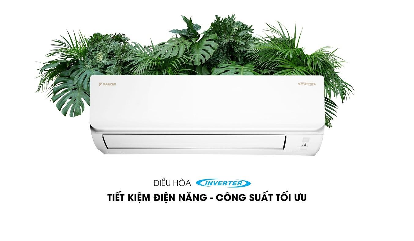 Máy lạnh Daikin Inverter 1.5 HP ATKA35UAVMV - Máy lạnh Daikin Inverter 1.5 HPtiết kiệm điện năng hiệu quả