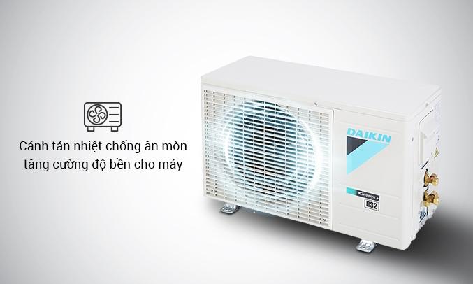 Máy lạnh Daikin Inverter 1.5 HP ATKA35UAVMV - Cánh tản nhiệt chống ăn mòn