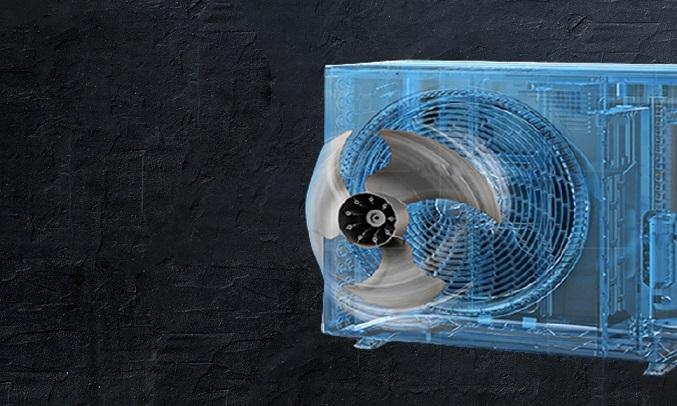 Máy lạnh Daikin 1 HP ATF25UV1V - cánh tản nhiệt chống ăn mòn