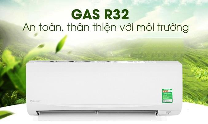 Máy lạnh Daikin 1 HP ATF25UV1V - gas R32 thân thiện với môi trường