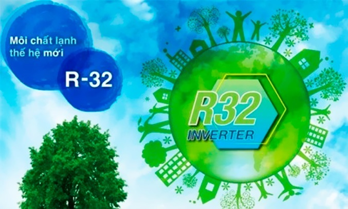 Máy lạnh Daikin Inverter 1 HP ATKC25UAVMV - Gas R32 thân thiện với môi trường
