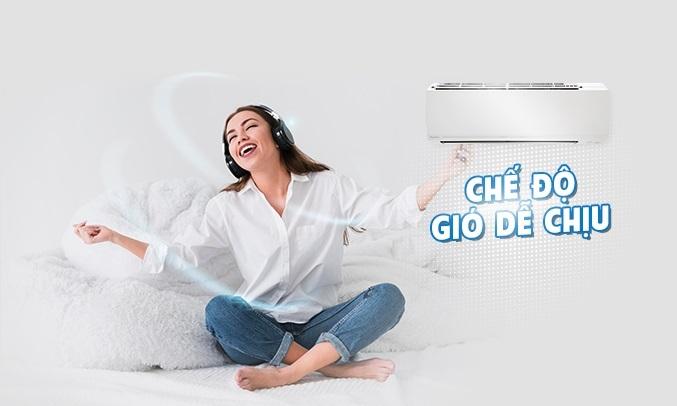 Máy lạnh Daikin Inverter 1.5 HP ATKC35UAVMV - Chế độ thổi gió dễ chịu của điều hòa