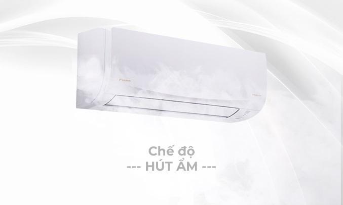 Máy lạnh Daikin Inverter 1.5 HP ATKQ35TAVMV - Chế độ hút ẩm
