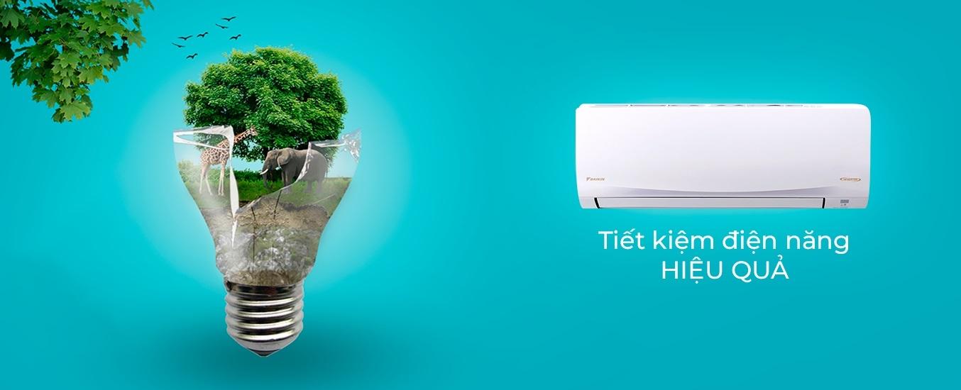 Máy lạnh Daikin Inverter 1.5 HP ATKQ35TAVMV - Công nghệ Inverter
