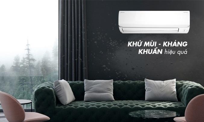 Máy lạnh Daikin Inverter 1 HP FTHF25RAVMV - Khử mùi kháng khuẩn