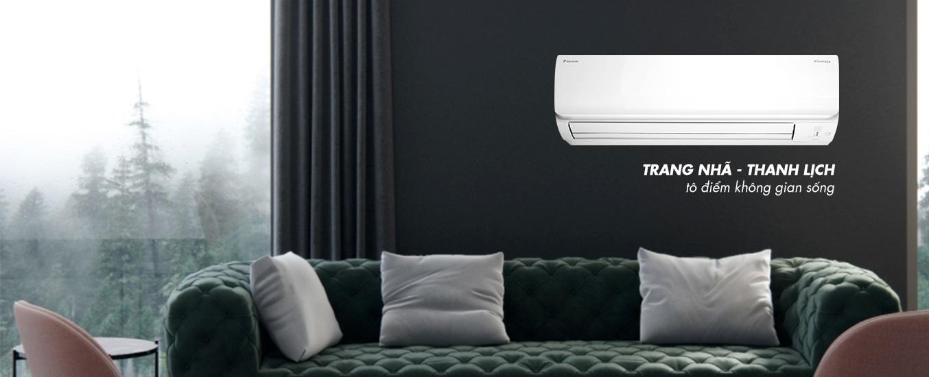 Máy lạnh Daikin Inverter 1 HP FTHF25RAVMV - Thiết kế thanh lịch