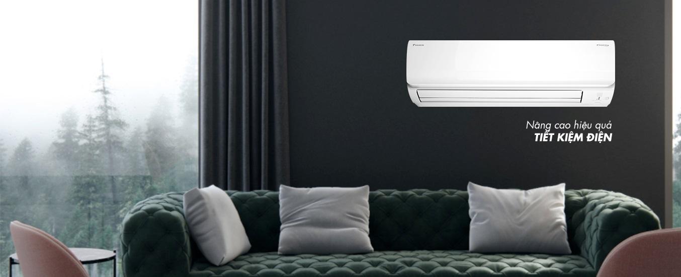 Máy lạnh Daikin Inverter 1 HP FTHF25RAVMV - Tiết kiệm điện năng