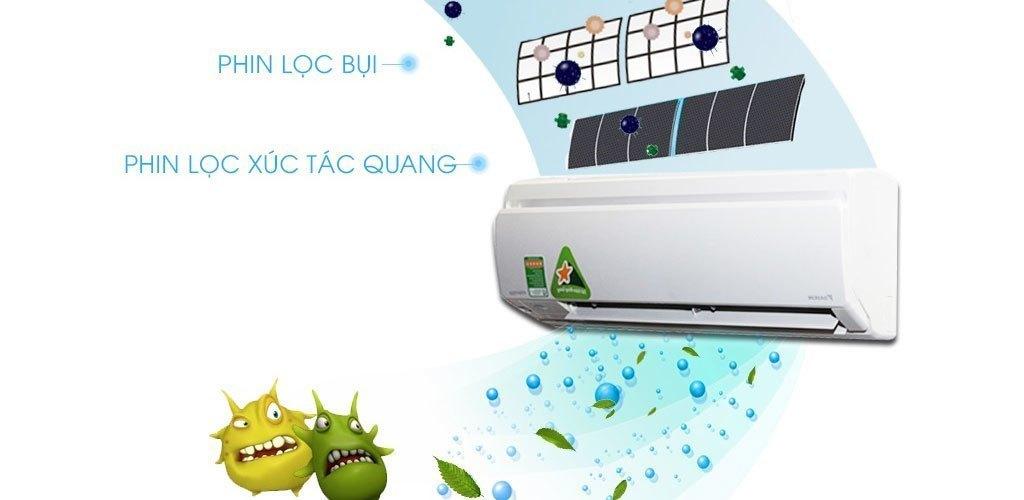 Máy lạnh Daikin Inverter 1 HP FTKS25GVMV kháng khuẩn hiệu quả