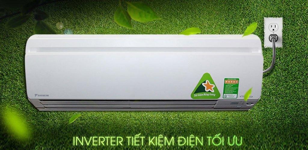 Máy lạnh Daikin Inverter 1 HP FTKS25GVMV tiết kiệm điện