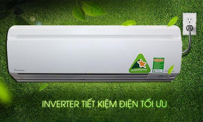 Máy lạnh Daikin Inverter 1.5 HP FTKS35GVMV tiết kiệm điện năng