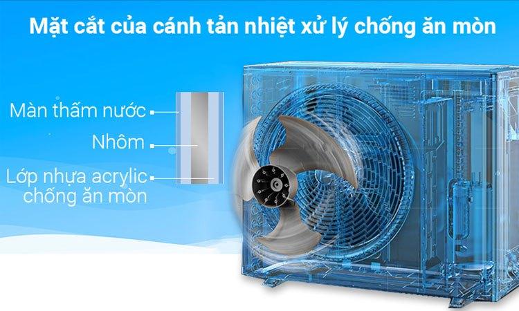 Máy lạnh Daikin FTKC50RVMV/RKC50RVMV hoạt động bền bỉ, tuổi thọ cao