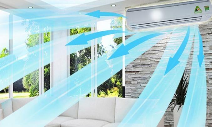 Máy lạnh Daikin Inverter 2 HP FTKS50GVMV 2 ngựa giúp làm lạnh hiệu quả