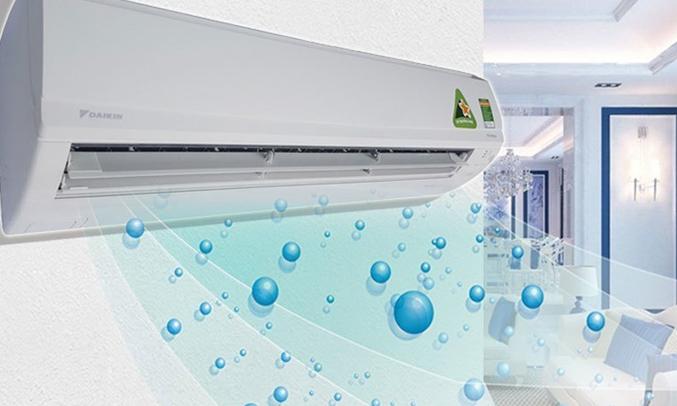 Máy lạnh Daikin Inverter 2 HP FTKS50GVMV làm lạnh nhanh chóng