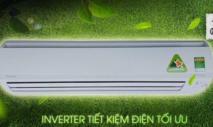 Máy lạnh Daikin Inverter 2 HP FTKS50GVMV tiết kiệm điện