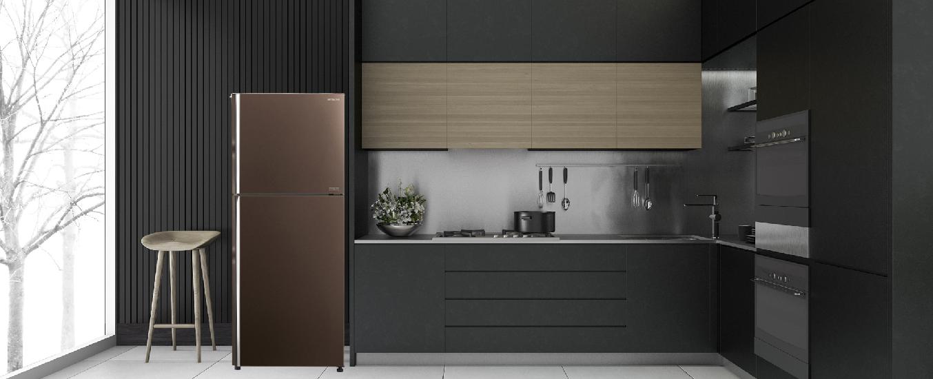 Tủ lạnh Hitachi 366 lít R-FG480PGV8 (GBW) -Thiết kế thời thượng, sang trọng