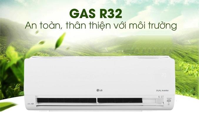 Máy lạnh LG Inverter 1 HP V10APH1 - Gas R32 thân thiện với môi trường