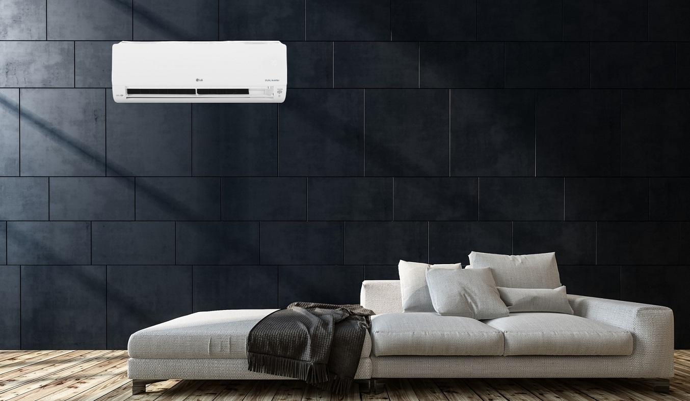 Máy lạnh LG Inverter 1 HP V10APH1 - Thiết kế sang trọng