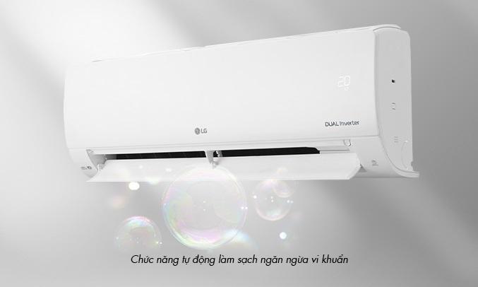 Máy lạnh LG Inverter 1.5 HP V13ENS1 - Chức năng tự làm sạch