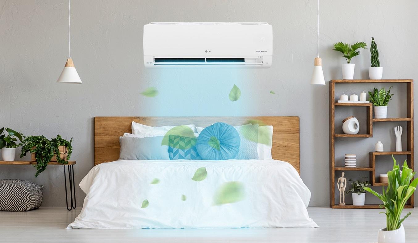Máy lạnh LG Inverter 1.5 HP V13ENS1 - Công nghệ Inverter tiết kiệm điện