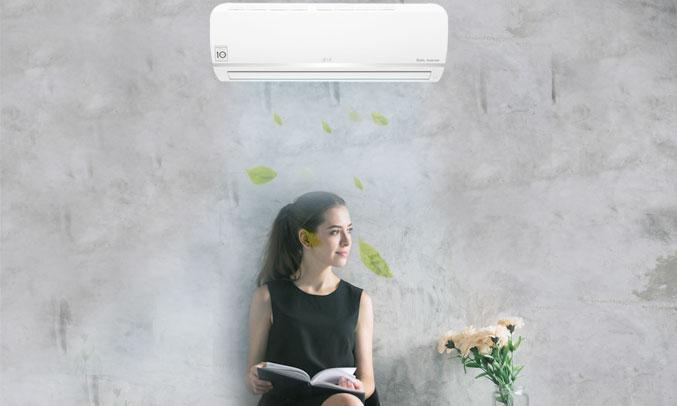 Máy lạnh LG inverter 1 HP V10ENW phân phối tại nguyenkim.com