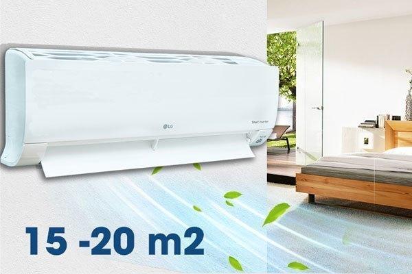 Máy lạnh LG V13APQ thiết kế hiện đại, cuốn hút ánh nhìn