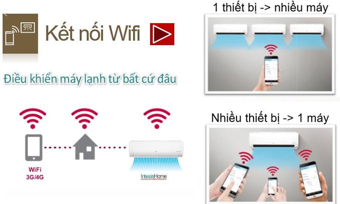Máy lạnh LG Inverter 1HP V10API kết nối Wifi