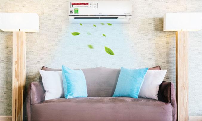 Máy lạnh LG Inverter 1.5 HP V13API công suất mạnh mẽ