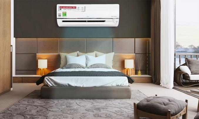Máy lạnh LG Inverter 1.5 HP V13API có thiết kế tinh tế